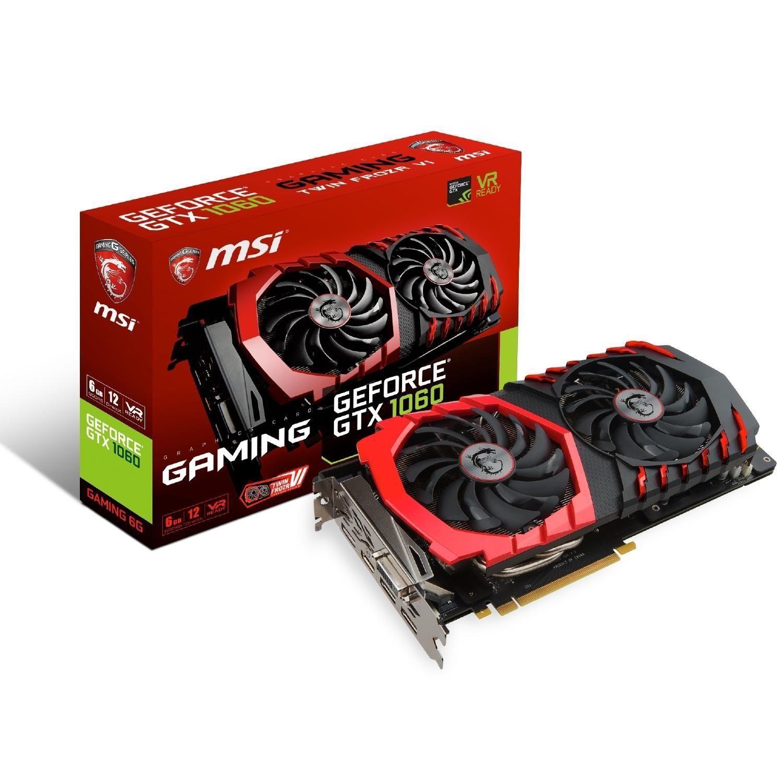 MSI GeForce GTX 1060 Gaming 6G - 6GB DDR5 - [BESTPREIS]