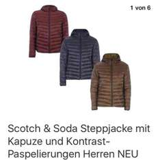 Ebay Scotch & Soda Steppjacke 45,99€- 69,99€