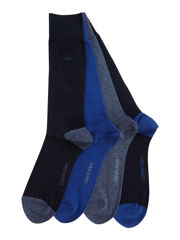Calvin Klein Socken 4er Pack in Dunkelblau für 9,95€ inkl. Versand bei Peek & Cloppenburg