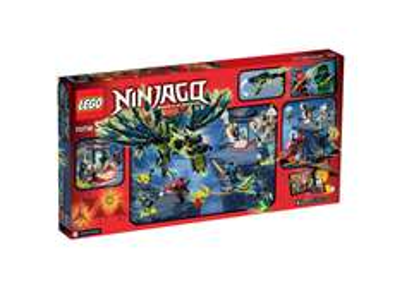 LEGO NINJAGO 70736 Angriff des Moro-Drachens für 36,90€ (weitere LEGO-Sets verschiedener Serien zu Ausverkaufspreisen) [Interspar.at]