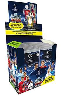 [-70 % UVP] Topps Match Attax Champions League 15 16 Display 50 Booster 50 € UVP