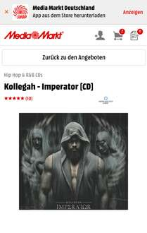 Kollegah - Imperator Hip Hop & R&B CDs - Media Markt
