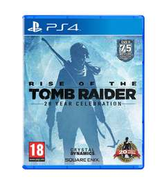 Rise of the Tomb Raider: 20 Year Celebration (PS4) für 31,50€ (Coolshop)