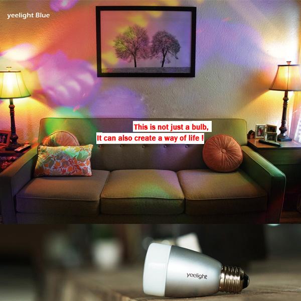 Xiaomi Yeelight (ähnlich Philips Hue) LED Smart Light (jetzt mit Skill über Echo steuerbar)