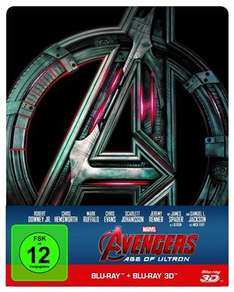 Avengers – Age of Ultron im Steelbook [3D Blu-ray + Blu-ray] [Limited Edition] für 16,99€ (Cede)