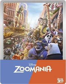 (Cede) Zoomania Blu-Ray Steelbook (3D sowie 2D Fassung)