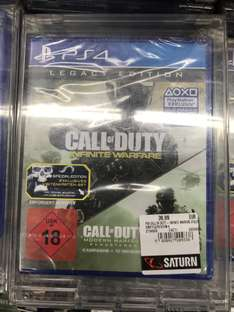 [LOKAL] Call of Duty: Infinite Warfare Legacy Edition (+ Modern Warfare) PS4 @ Saturn Frankfurt Zeil