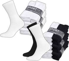 30er Pack Sport Socks Sportsocken 9,99€