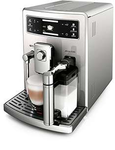 [Amazon] Saeco HD8954/01 Xelsis Evo Kaffeevollautomat, integrierte Milchkaraffe, silber
