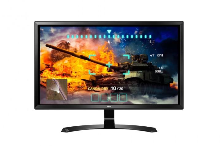 """LG Electronics 27UD58-B - 27""""-Monitor, 3840x2160, AH-IPS-Panel, 2x HDMI, 1x DisplayPort, VESA"""