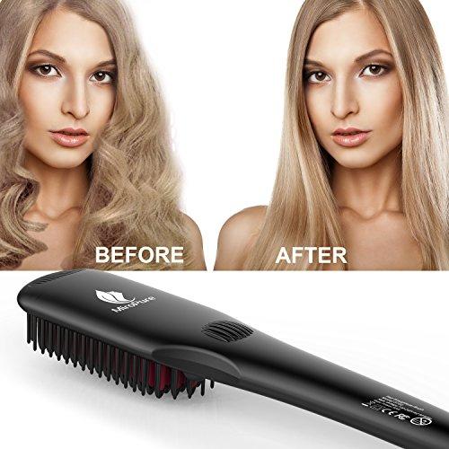 (Amazon) 2in1 Ionischer Haarglätter + Handschuh