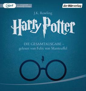 Harry Potter - Die Gesamtausgabe - gelesen von Felix von Manteuffel - Hörbuch