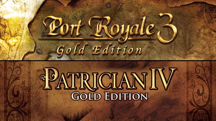 Port Royale 3 Gold & Patrician IV Gold - Double Pack für 7,49€ [Bundle Stars] [Steam]