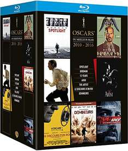[amazon.fr prime] Oscar's Best 2010-2016 : Spotlight + Birdman + 12 Years A Slave + Argo + The Artist + The King's Speech + Tödliches Kommando [Blu-ray]