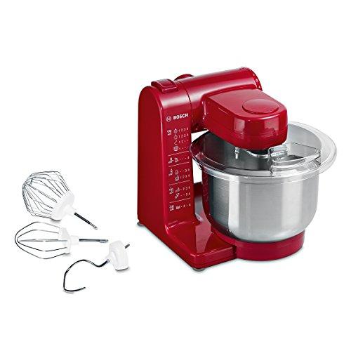 Bosch Küchenmaschine MUM 44R1 500W mit Edelstahl-Rührschüssel in rot für 77,01€ [amazon.fr]