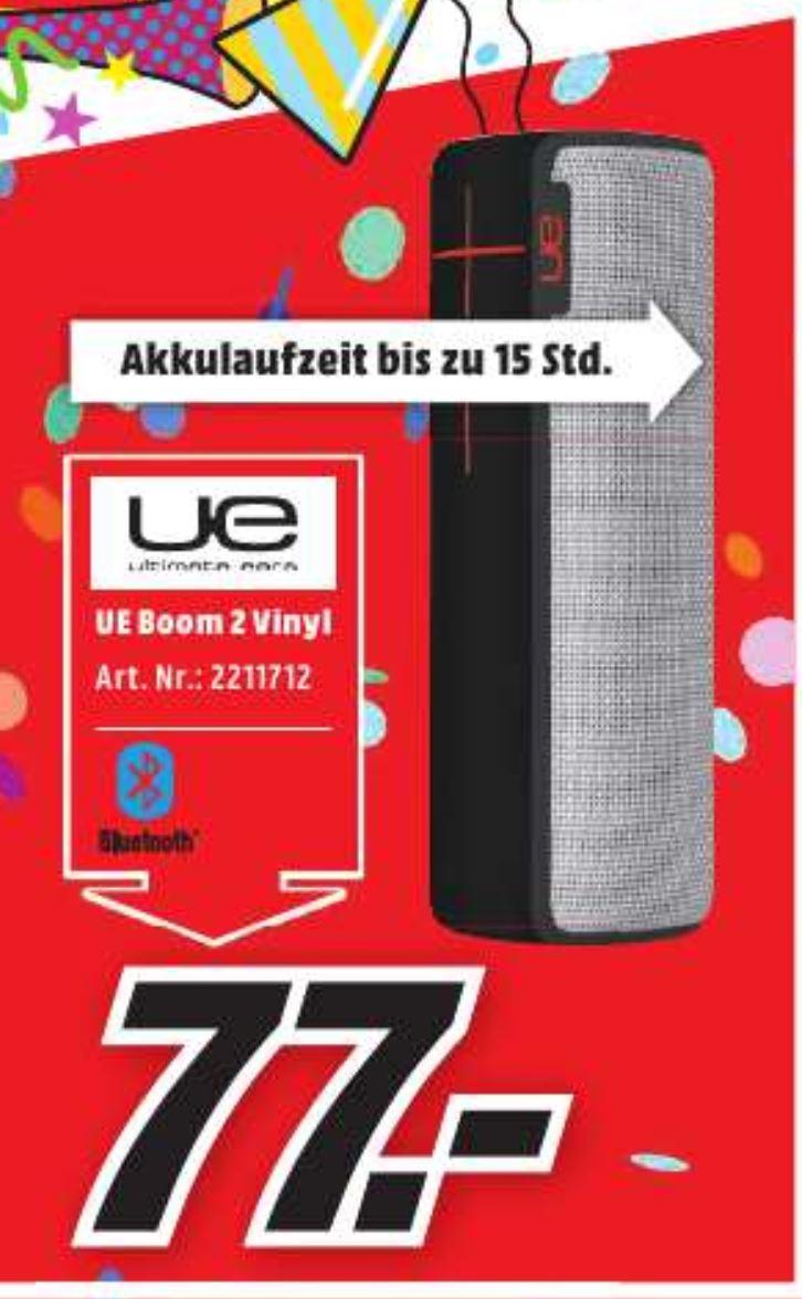UE Boom 2 Vinyl nur am Rosenmontag im Mediamarkt Köln Kalk für 77.-