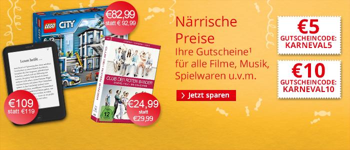 Gutscheine bei Hugendubel (online) auf nicht Preisgebundenes: 5€ bei 25€ MBW, 10€ bei 50€ MBW