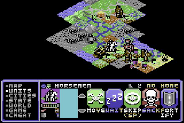 kostenlos Civilization auf C64 - mehr Retro geht nicht!