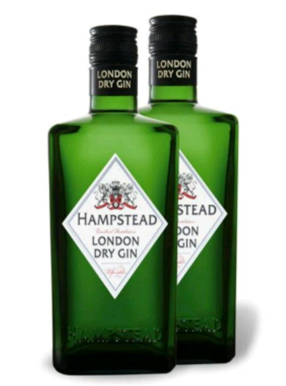 6 x 0,5-l-Flasche Hampstead Premium Gin 32,97 Euro
