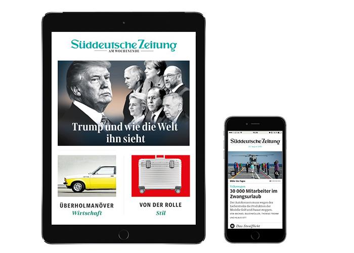 Süddeutsche Zeitung - 4 Wochen für 9,99€ [Selbstkündigend]