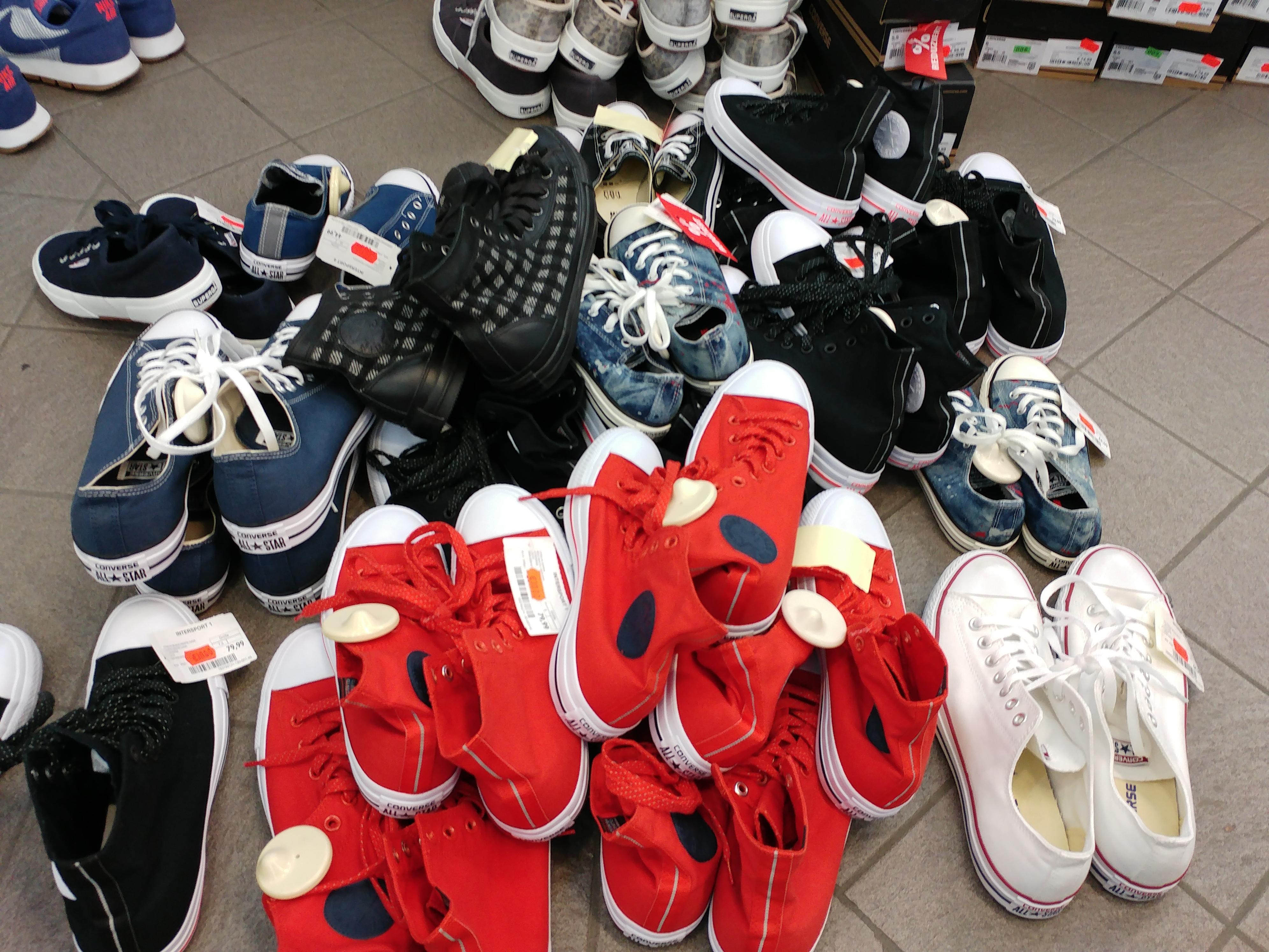 Converse All Star Chucks ab 20 Euro im City Center Schwäbisch Gmünd verschiedene Modelle