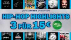 SATURN Hip Hop Highlights 3 für 15€ ( Bundesweit)