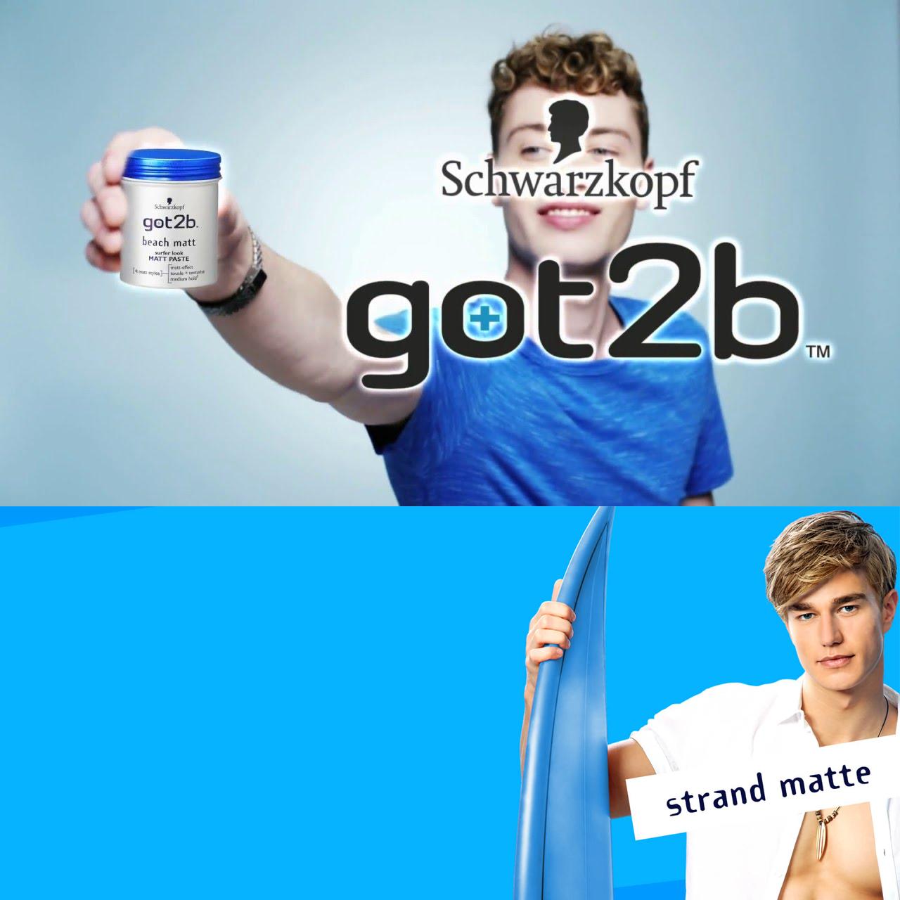 Schwarzkopf got2b strand matte Haarwachs & weitere Produkte reduziert bei Rossmann