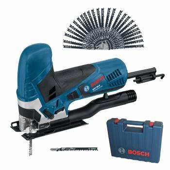 [Werkzeugstore 24] Bosch Stichsäge GST 90 E im Handwerkerkoffer + 25x Stichsägeblätter T 144 D