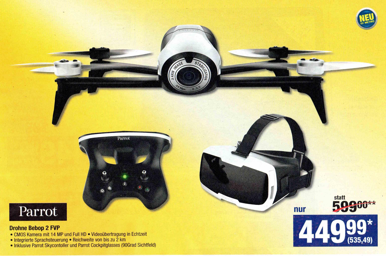 Parrot Bebop 2 FVP Drohne [METRO]
