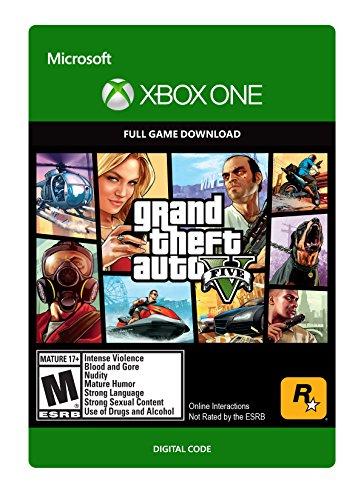 [amazon.com] Grand Theft Auto V, digital für die Xbox One ohne Gold