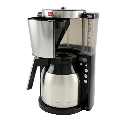 Melitta Kaffeefiltermaschine Look Therm Timer, Kalkschutz, Timer, schwarz/Edelstahl bei Amazon für 54,56 €