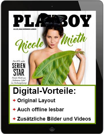 6 Ausgaben Playboy digital plus 25 € Gutschein (z.B. Amazon) für 27,50 €