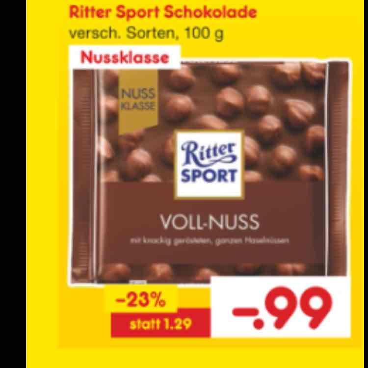 Ritter Sport Nussklasse
