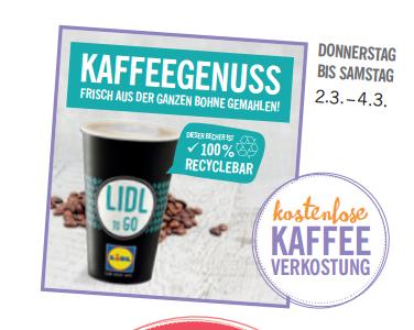 [LOKAL]Kostenloser Kaffee bei Lidl in Wismar zur Wiedereröffnung