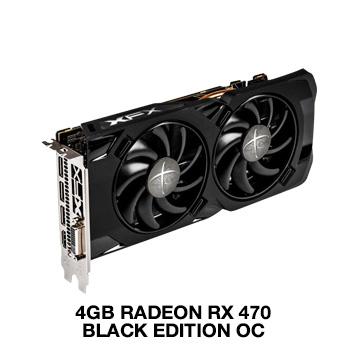XFX Radeon RX 470 RS Black Edition (4GB) ab 169€ [Mindfactory]
