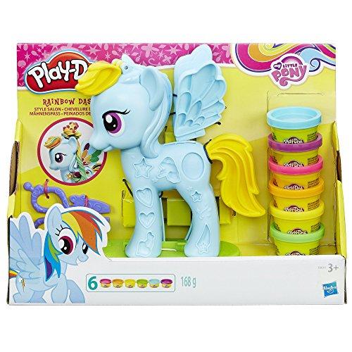 Play-Doh - My Little Pony Rainbow Dash Mähnenspaß für 7,93€ mit [Amazon Prime]