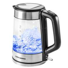 Amazon WHD - Ultratec LED Wasserkocher BlueVita100  2.200 Watt, 1.7 Liter