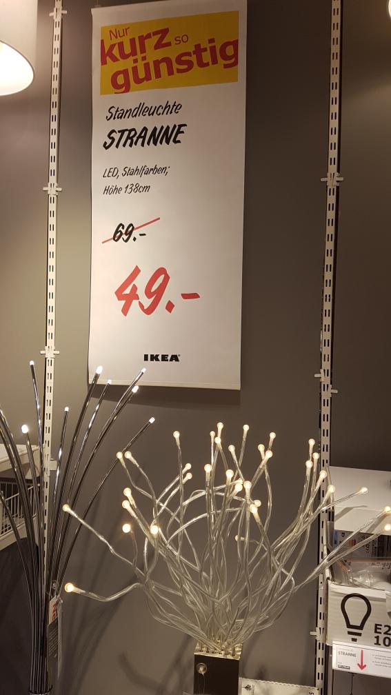[Lokal Ikea Eching] LED Standleuchte Stranne