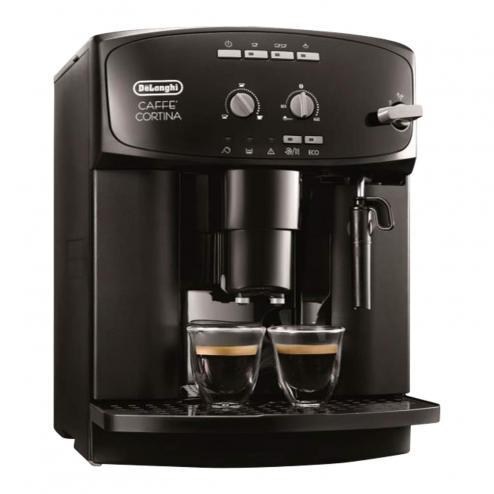 DeLonghi ESAM 2900 Caffé Cortina: Kaffeevollautomat, 1,8 Liter, 15 bar, herausnehmbare Brühgruppe, Dampfdüse - für 199,20€  [T-Online Shop]
