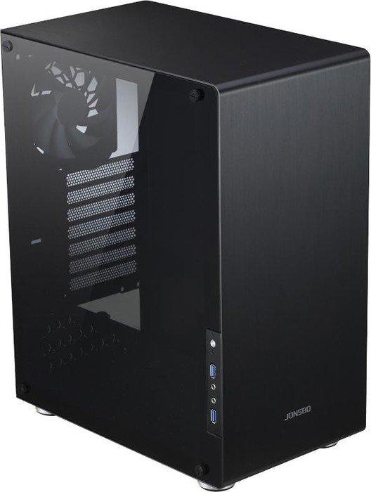 Jonsbo U4 Cube-Gehäuse mit Echtglas (ATX, bis 310mm GPU, Aluminium + Metall, Staubfilter, Kabelmanagement) für 71,80€ + ~20€ in Superpunkten [Rakuten]