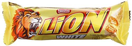 [Amazon] Nestlé Lion White Einzelriegel 24 x 42 g, 1er Pack (1 x 1.008 kg), 48 Cent / Riegel