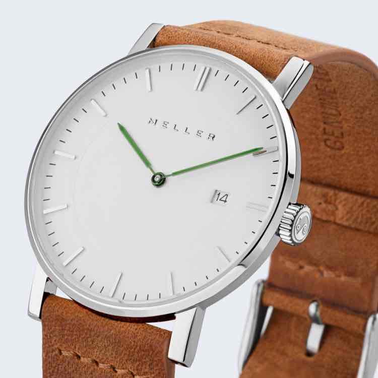 Meller Uhren - mit Seiko Uhrwerk und Saphirglas beschichtet - 40% Rabatt