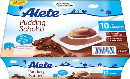 [Amazon Prime] Alete Minis Pudding Schoko 8*360g