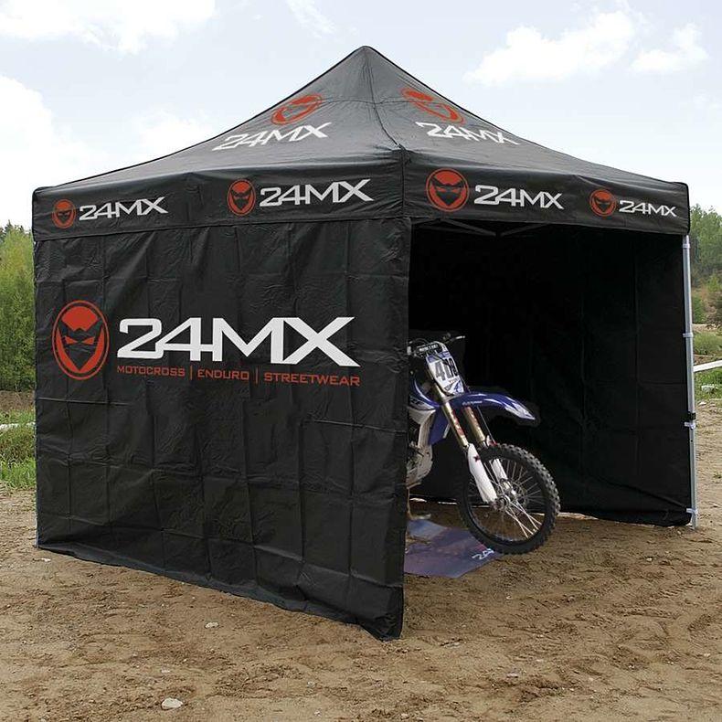24MX Rennzelt 3x3m Easy-UP inkl 3 Seitenwände