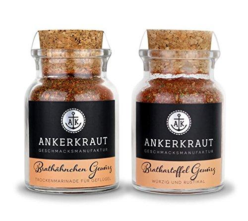 """Ankerkraut Gewürzset """"Brat Duo"""", Brathähnchen und Bratkartoffel"""