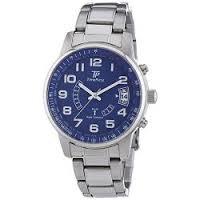 [Amazon] Time Piece Herren-Armbanduhr XL Funk Analog Quarz Edelstahl TPGS-10291-12M