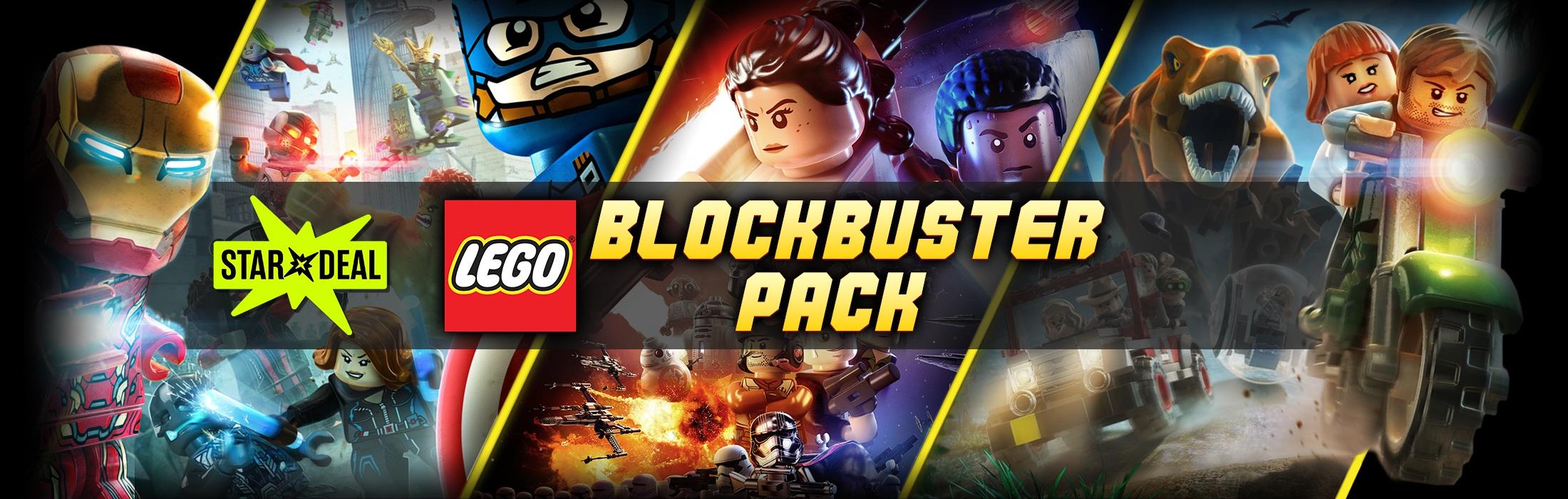 (Bundle Stars) LEGO Blockbuster Pack