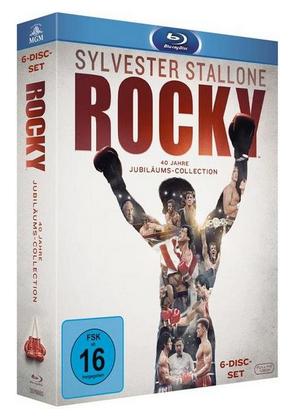Rocky Filme 1-6 auf Blu-ray für 16,57€ (Thalia)