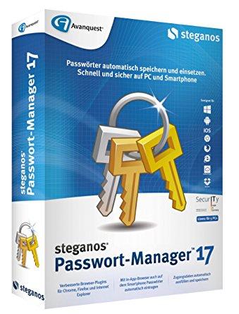 [Vollversion] Steganos Passwort-Manager 17
