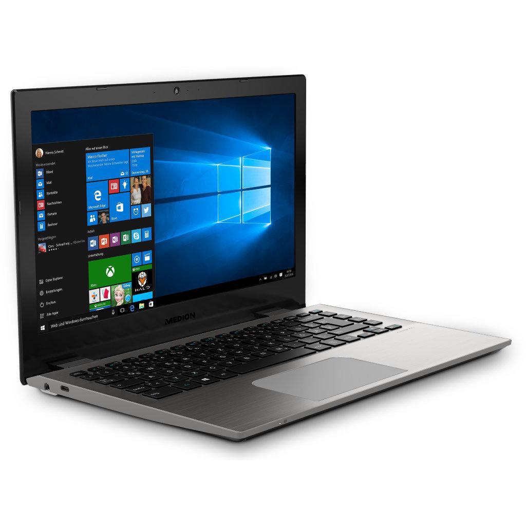 """Medion Akoya S3409 - Core i5-7200U, 8GB RAM, 256GB SSD, 13,3"""" FHD IPS matt, Win 10, 1,5kg, 7h Akku - 599€ @ Medion"""